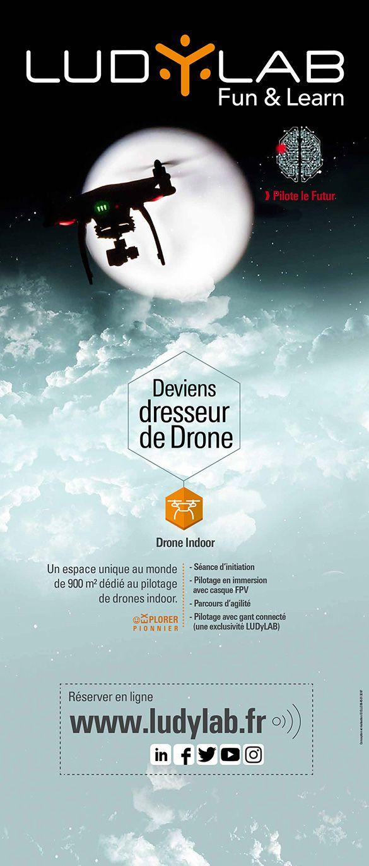 Roll up Ludylab Vendée drone