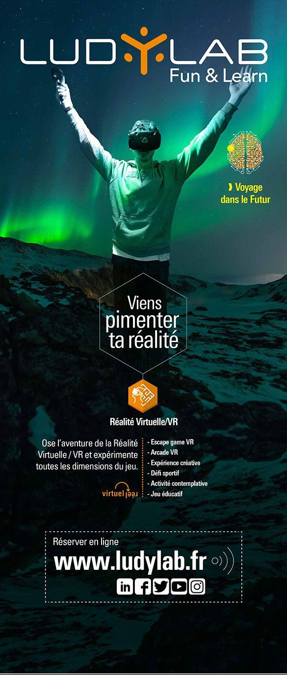 Roll up Ludylab réalité virtuelle