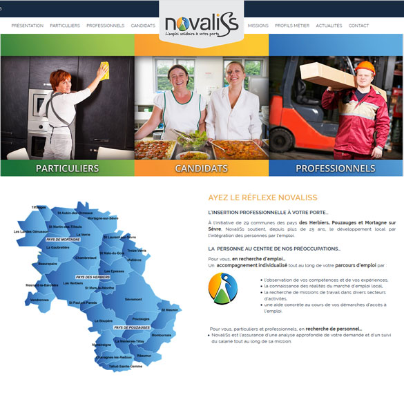 Newsletter Novaliss créée par IDELLE - Vendée